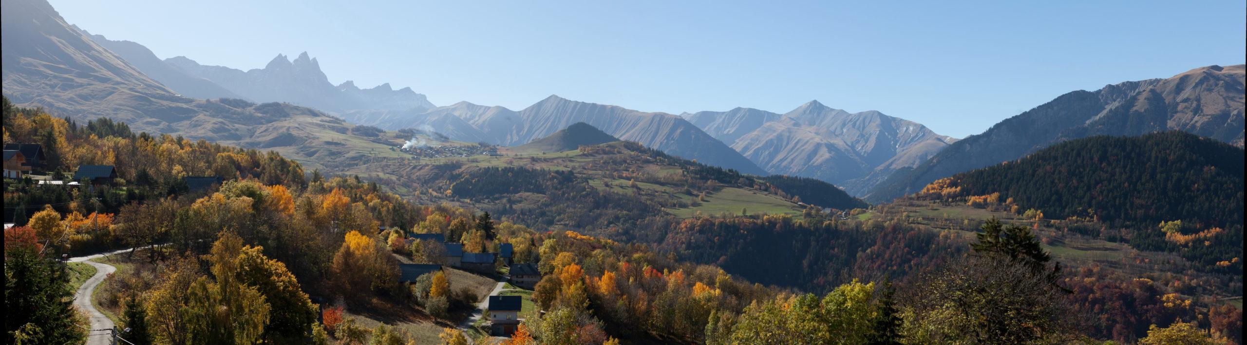 Paysage depuis Albiez-Montrond - Jean-Marc Blache